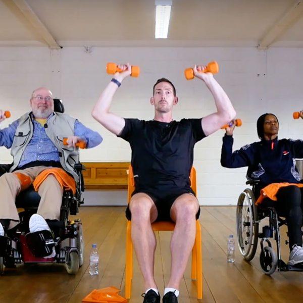 MS Warrior Training Program From Disability Training